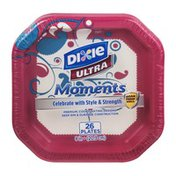 Dixie Ultra Moments Plates - 26 CT
