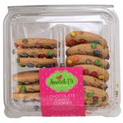 Sweet P's Chocolate Candy Cookies