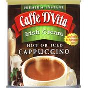 Caffe D'Vita Cappuccino, Premium Instant, Irish Cream