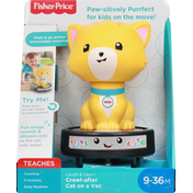 Fisher-Price Crawl-After Cat on a Vac, 9-36M