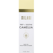 Milani Face Oil, Camellia, Prep + Soothe