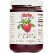 d'arbo Fruit Spread, Strawberry