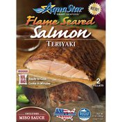 Aqua Star Flame Seared Teriyaki Salmon