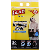 Glad Training Pads, Activate Carbon, For Pets