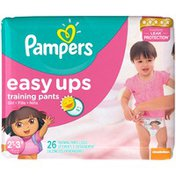 Pampers Easy Ups Training Pants Girls Diapers