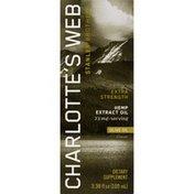Charlotte's Web Hemp Extract Oil, Extra Strength, Olive Oil, Box
