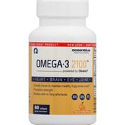 Oceanblue Omega-3 2100, Softgels, Natural Orange