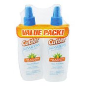 Cutter Skinsations Insect Repellent - 2 CT