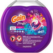 Gain flings! Scent Duets Laundry Detergent Pacs, Wildflower and Waterfall, 43 count Laundry