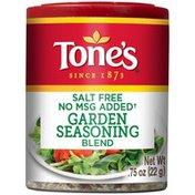 Tone's Salt Free & No MSG Added Garden Seasoning