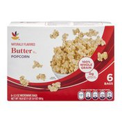SB Popcorn Butter Microwave Bags - 6 CT