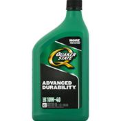 Quaker State Motor Oil, SAE 10W-40