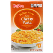 Hy-Vee Tuna Cheesy Pasta & Cheese Sauce Mix Skillet Meal