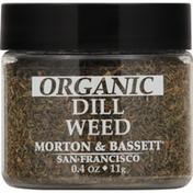 Morton & Bassett Spices Dill Weed, Organic