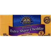 Crystal Farms Cheese, Wisconsin Extra Sharp Cheddar