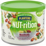Planters Men's Health Recommended Nut Mix with Peanuts, Almonds, Pistachios & Sea Salt