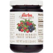 D'arbo Fruit Spread, Mixed Berries