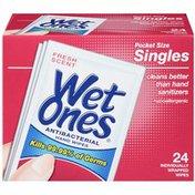 Wet Ones Antibacterial Fresh Scent Pocket Size Hand Wipes
