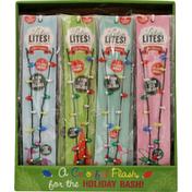 Lotsa Lites Holiday Necklace, Flashing