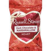 Russell Stover Marshmallow, Dark Chocolate, Heart