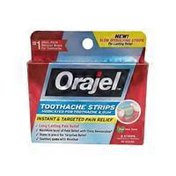 Orajel Cool Mint Taste Toothache Strips