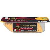 Cracker Barrel Cheese Slices, Sharp Cheddar, 11 ct
