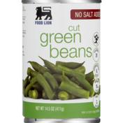 Food Lion No Salt Added Cut Green Beans