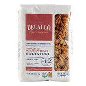 DeLallo Organic Whole Wheat Radiatori # 42