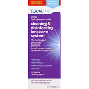 Equaline Cleaning & Disinfecting Lens Care System