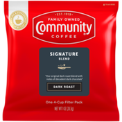 Community Coffee Signature Blend Filter Pack