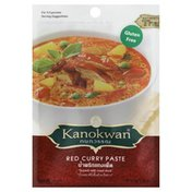 Kanokwan Curry Paste, Red