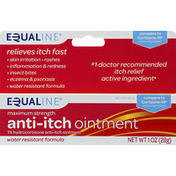 Equaline Anti-Itch Ointment, Maximum Strength