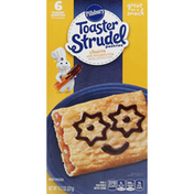 Pillsbury Toaster Pastries, with Icing Packets, Churro with Chocolatey Icing