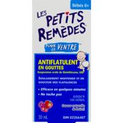 Little Remedies (CN) Les Petits Remedes Pour Le Ventre Antiflantulent En Gouties Saveur Naturelle De Baies,   For Tummys Gas Relief Drops Natural Berry
