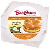 Bob Evans Sausage, Egg & Cheese Croissant Sandwich