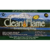 Clean Flame Firelog, The Earth Friendly