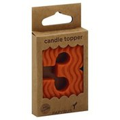 Papyrus Candle Topper, Number 3