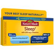 Nature Made Sleep† 3mg Melatonin + 200mg L-theanine
