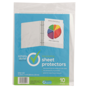 Simply Done Top Loading Sheet Protectors