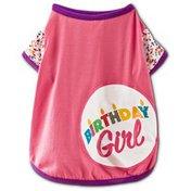 You & Me Small Birthday Girl Dog T-Shirt