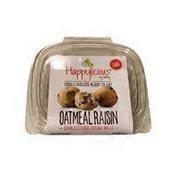 Happylicious Edible Oatmeal Raisin Cookie Dough