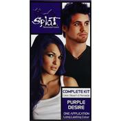 Splat Hair Color, Purple Desire, Complete Kit