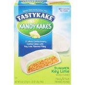 Tastykake Kandy Kakes Summer Key Lime Tastykake® Kandy Kakes Summer Key Lime Snack Cakes