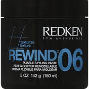 Redken Styling Paste, Pliable, Rewind 06
