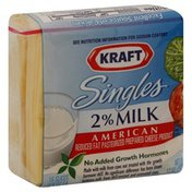 Kraft Cheese Product, Pasteurized Prepared, Reduced Fat, 2% Milk, American