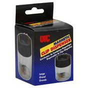Oic Clip Dispenser, Magnetic, Large