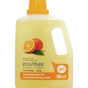 Eco Max Laundry Wash, Natural Orange