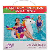 H2o Go! Swim Ring, Fantasy Unicorn, Ages 10+