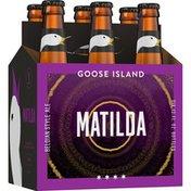 Goose Island Beer Co. Matilda Belgian Style Ale Beer Bottles