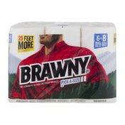 Brawny Pick-A-Size® Paper Towels, 6 Large Rolls